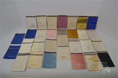 40] PERSONALIZED MATCHBOOK COVERS Other Items For Sale 1