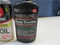 Lot (5) Bottles Precision Lube~Oils