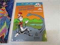 Lot (6) New Dr.Seuss Books & Sticker