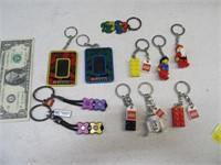 Lot (6+) Key Chain Collection LEGO StarWars ETC