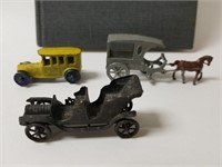 Lot of cast cars, Hitler propaganda book and more