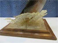 Amazing Rainbow Trout Taxidermy Jumping Mount