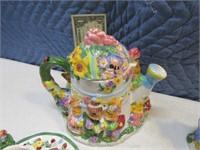 Neat 4serviceset Rabbit Mini Tea Set
