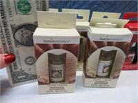Lot (8) New .5oz Home Fragrance Liquid Bottles