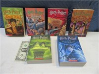 5pcSet Harry Potter Scholastic Books New 2/2