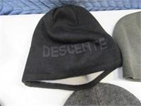 Lot (5) Asst Stocking Hats Carhartt~Navy Beanies