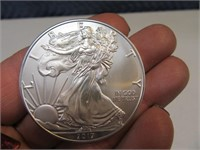 2017 LIberty .999 Silver 1zo Coin MINT 2of2