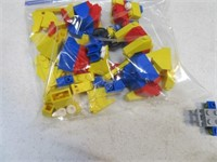 Lot (5+) Vintage LEGO Vehicle Toy Sets
