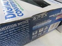 New APEX Digital Converter TV Box Sealed 1/3
