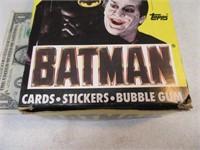 36 Sealed 1989 WaxPacks BATMAN Trading Cards