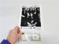 """Signed 8x10 Rock Band """"Six Feet Under"""" Signed Pic"""