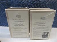 Lot (9) LeatherBack LibraryAmerica Books NEW $$$$