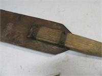 """48"""" Antique Sugar Cane Cutter Yard Tool or Psycho"""