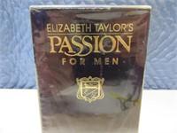"""New 4oz Men's Cologne """"PASSION Elizabeth Taylor"""""""