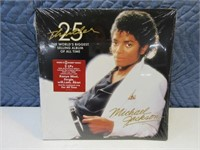 Michael Jackson SEALED Album 25thAnni THRILLER