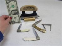 Lot (5) Pocket~ULU Knives