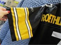 """Steelers ROETHISBERGER Reebok """"M"""" Jersey"""