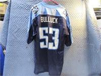 """TennesseeTitans 53-Bullock """"L"""" Reebok Jersey"""