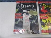 Lot (7) Comic Books & Track Sports Card