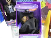 Lot (5) Halloween Decor Push-Play EXC $80+