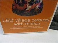 Lot (2) Halloween PushPlay & LED Motion Village