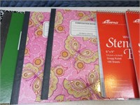 Lot (26) NEW Notebooks & Paper