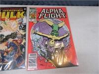 Lot (9) Comic Books