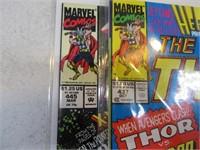 Lot (11) THOR Comic Books
