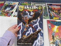 Lot (13) Comic Books Unique & #1's