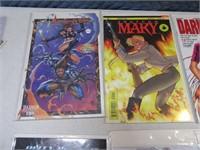 Lot (12) Comic Books Fantasy Asst