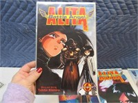 Lot (9) Comic Books Alita~Shi Signed?