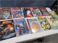 Lot (12) Comic Books Asst Unusual