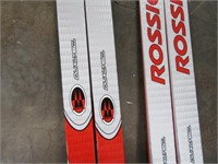 Lot (2) Rossignol  Xium Course Skis w/ 2sets Poles
