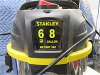 Stanley Stainless Look Shopvac w/ Handle Cart