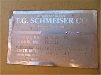 5' Schmeiser 3 Shank VR33IP 3pt Ripper