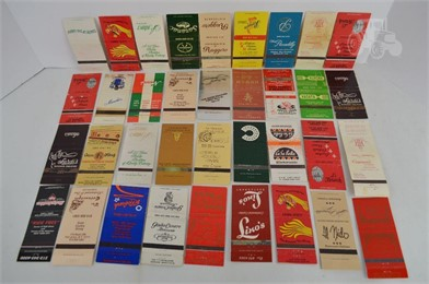 36] NEW YORK RESTAURANT MATCHBOOK COVERS Other Items For