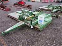 10' John Deere 1018 Offset Rotary Mower