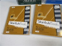 Lot (5) New SKETCH Spiral Books