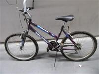"HUFFY Unisex 26"" Mountain Bike Purple 18speed"