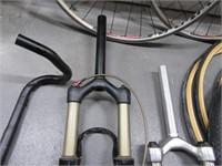 Tub of Bike Bicycle Parts~Wheels~Tubes & More