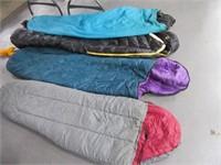 Lot (4) Cocoon Sleeping Bags SLUMBERJACK MtnMan