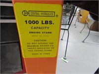 1000lb Engine Stand CENTRAL MACH