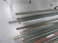 Lot (23) Metal Fenceposts