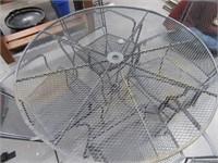 """48"""" Metal Wrought Iron 5pc Patio Set"""