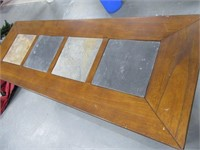 """50"""" Tile/Wood Sofa Side Accent Table NICE"""