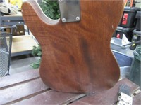 Handmade? Nice Electric Guitar w/ Extras