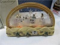 XmasAroundTheWorld Musical Nativity Scene Figure
