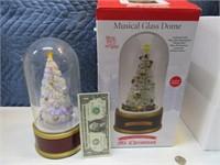 Mr.Christmas 75anniv Train Musical LED Globe #'d