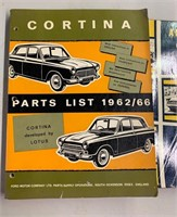 Early Auto Repair Manuals as Shown