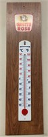 Man Cave Advertising Thermometer
